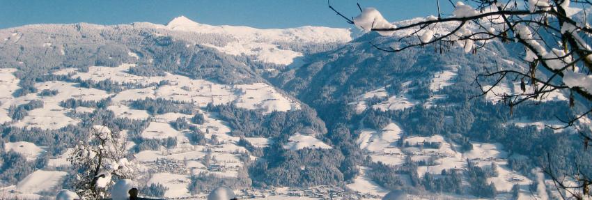 Der Goglhof - Aussicht im Winter